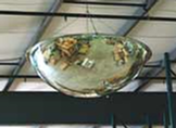 Full Hemisphere Polycarbonate Mirror